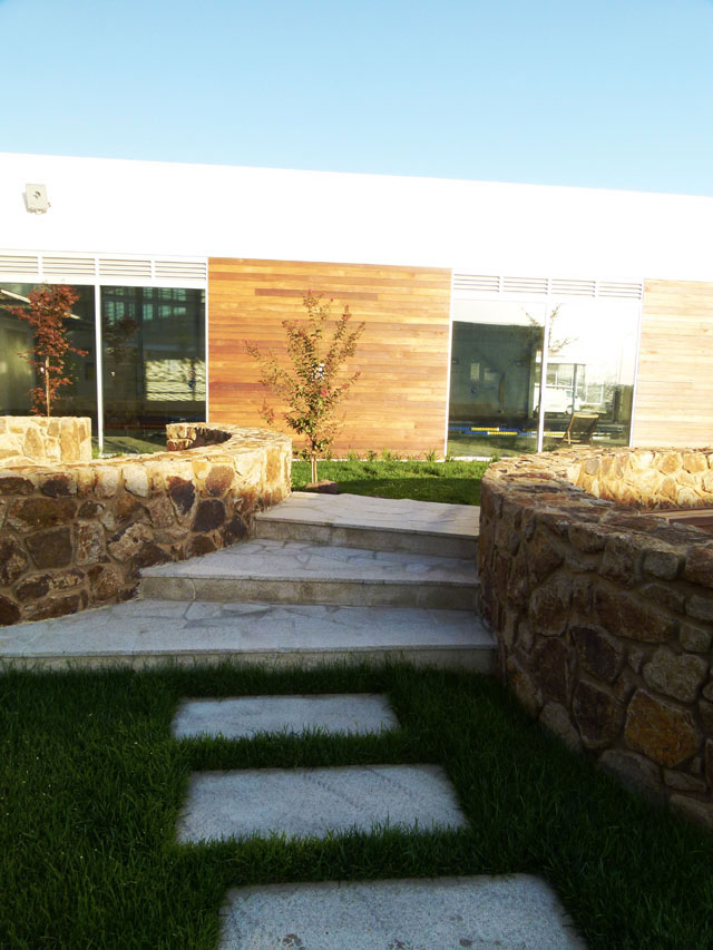 Marriot residential centre warrina landscaping melbourne for Landscaping rocks melbourne
