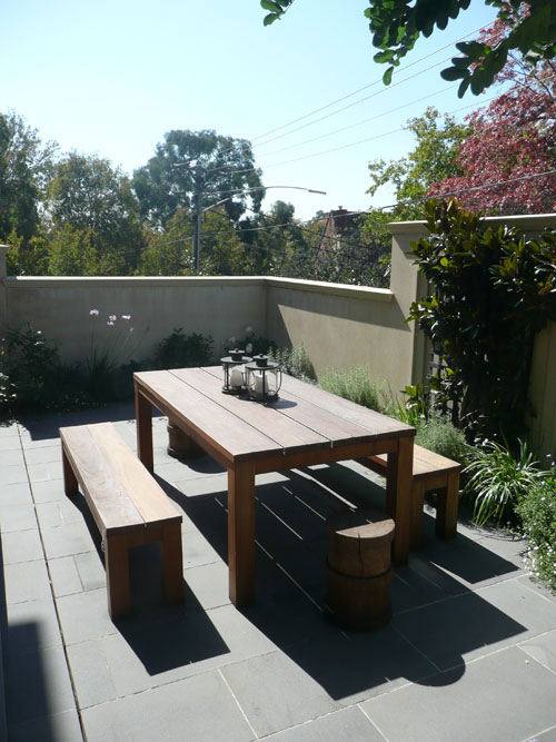 Landscaping alfresco courtyards warrina landscaping for Courtyard designs melbourne